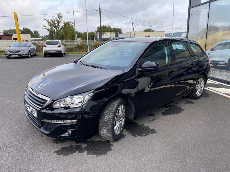 Photo 5 de l'offre de PEUGEOT 308 SW 1.6 BLUEHDI 120CH ACTIVE BUSINESS S&S à 12990€ chez Automobiles Services